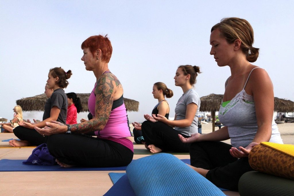 women, yoga classes, fitness